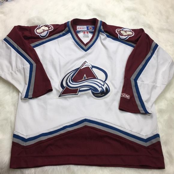 Colorado AVALANCHE CCm Hockey Jersey Size XXL HezaYbv1